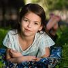Little Princess Leah in Endor forest