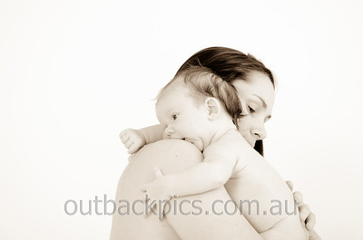 Lesley & baby