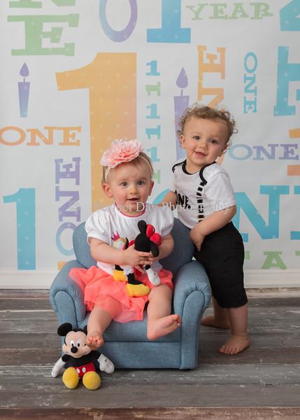 Lewis Twins 1st Birthday