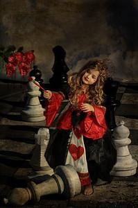 Queen of Hearts for Halloween