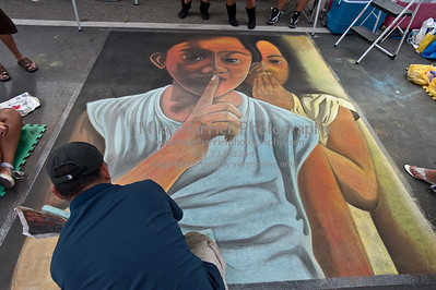 Carlsbad Art Splash - Sidewalk Chalk Art-66