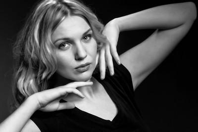 Model: Alisa studio portraits