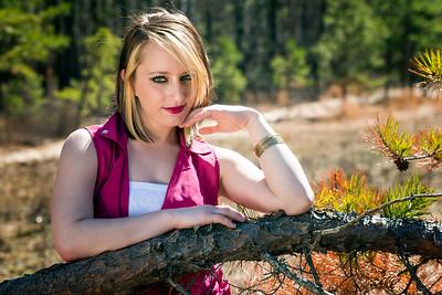 Model: Ashley at the Brooksbrae Ruins
