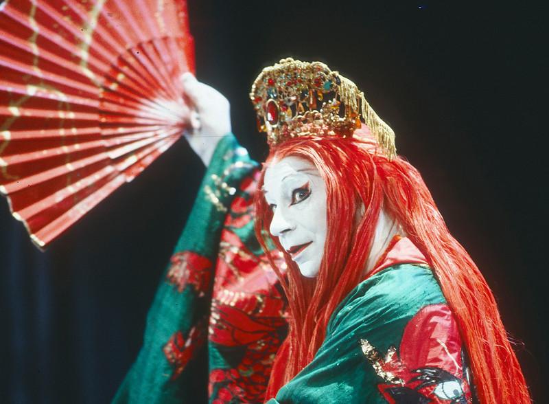 Lyndsey Kemp, performer 1991