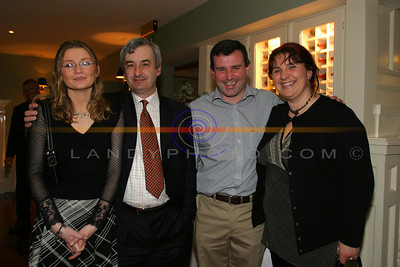 Coara O Brien, Owen McMahon, Con Wheelan and Imelda Dowling Garvey at the Listowel Drama Groups 60th Anniversary of the foundation of kerrys oldest exisiting Drama Groups. Pic Brendan Landy