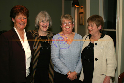 Nuala McAuliffe, Mary Mooney , KAy Landy and Helen McInerny at the Listowel Drama Groups 60th Anniversary of the foundation of kerrys oldest exisiting Drama Groups. Pic Brendan Landy