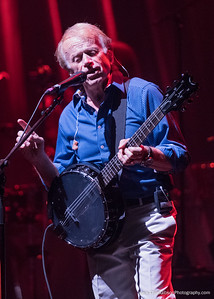 "Al Jardine, playing the banjo part on ""I Know There's An Answer"""