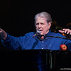 Brian Wilson, singing Good Vibrations, during the Pet Sounds anniversary concert