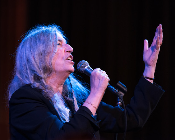 Patti Smith, Philadelphia Museum of Art, May 30, 2019