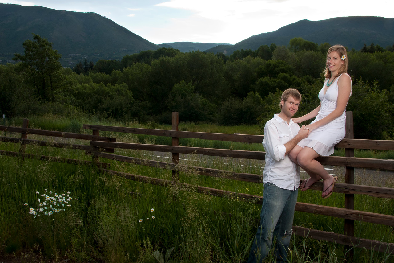 Luke and Danielle's engagement.  Aspen, Colorado.  Photography by Nathan Van Arsdale.<br /> Please use Bordered images on social networking sites such as Facebook, etc.