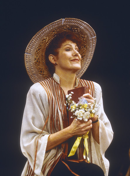 Lynn Redgrave performing 'Shakespeare for my Father' at the Theatre Royal, Haymarket, London, UK 1996