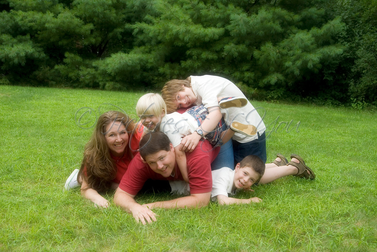 Family Pile-Up