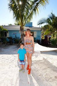 Prince Nathanael Peter & Princess Jenah Victor modeling for Siesta Key Beachside Villas