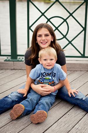 Mackenzie and Austin Birthday Portraits