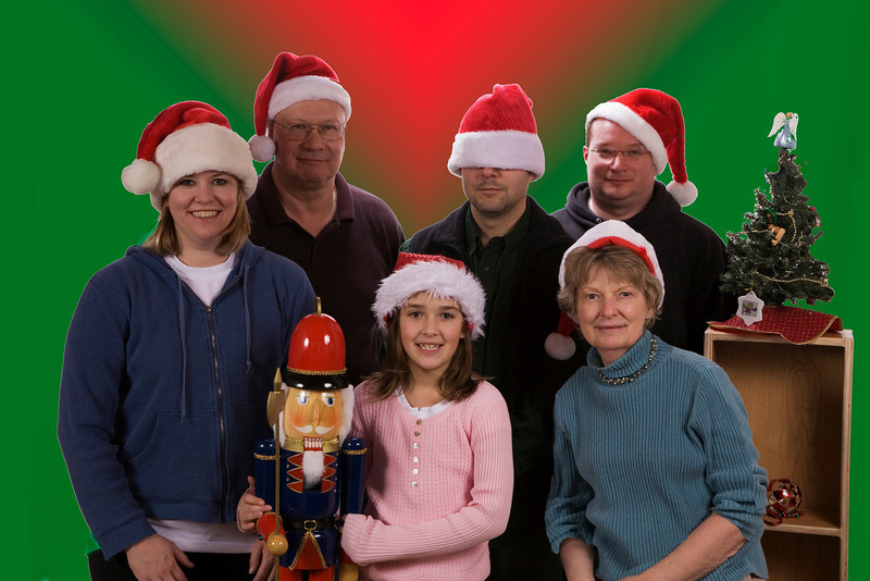 12 Red Green Family Photo 2007