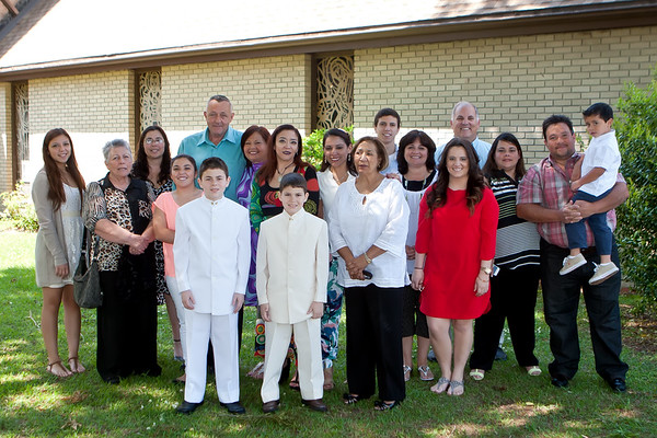 Mario And Andres First Communion