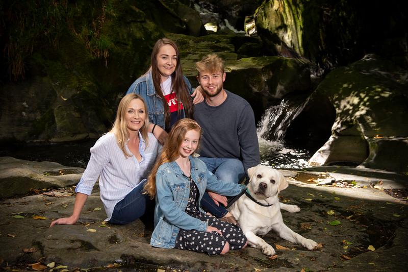 Marion Green Family Portrait