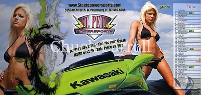 June 2010,Full Throttle Center Fold  - Bikini Girl