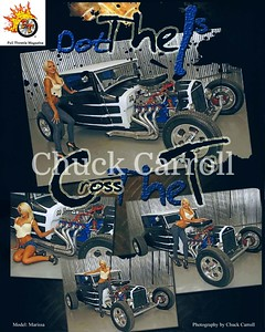 Full Throttle Magazine August 2010 Issue, Two page Spread