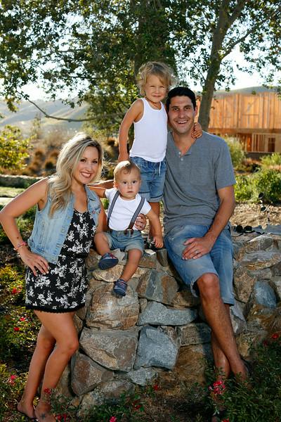 Dan and April Martin Family, Rancho Mission Viejo, CA, 8/28/14.