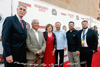 2014-03-13-091  On the Red Carpet at the Orpheum Theatre for the Cesar Chavez Movie Premiere