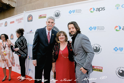 2014-03-13-104  On the Red Carpet at the Orpheum Theatre for the Cesar Chavez Movie Premiere