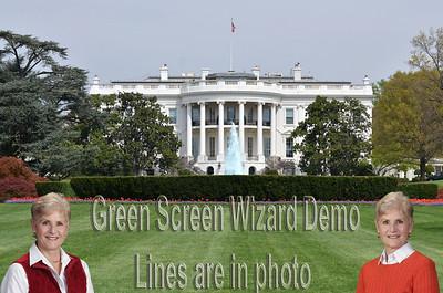 White House beauty shots Spring
