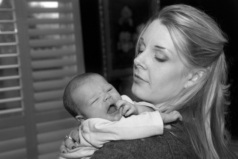 Tyler at 11 days old - Sunday 11-15-2009