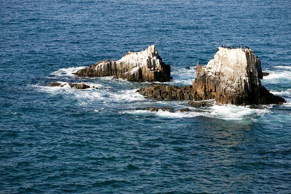 Seal Rock in Laguna beach