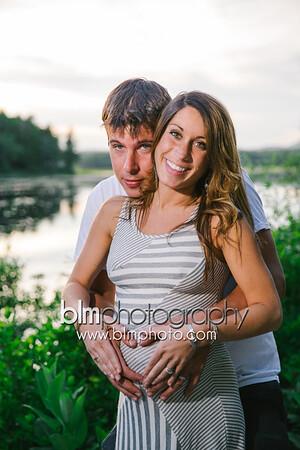 MacDowell Dam Maternity Portraits with Sarah & Greg  8429_06-07-15 - ©BLM Photography 2015
