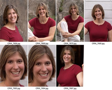 Contact sheet sized for 8x10.