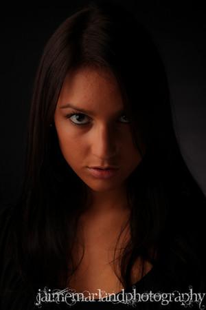 Megan in Studio