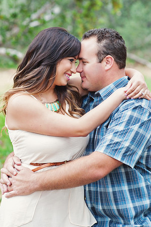 Melissa & Brandon - engaged!