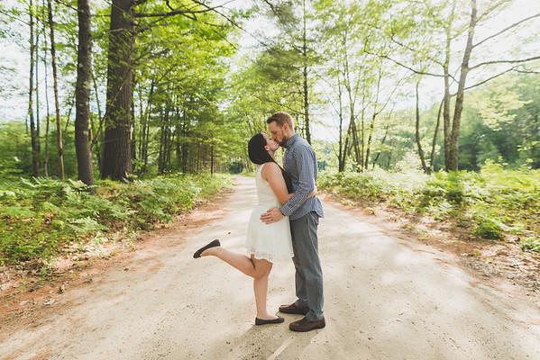 Melissa + Chris + Engaged