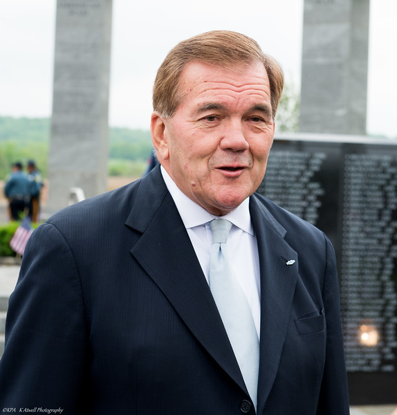 Retired Govenor Tom Ridge of Pa