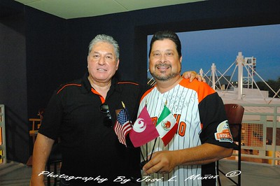 2014-09-19-034  Juan Aguirre, General Manager, Naranjeros de Hermosillo Michael Nowakowski, Phoenix City Councilman & Phoenix Sister Cities Hermosillo Liaison