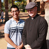 Tony and Fr. Collen