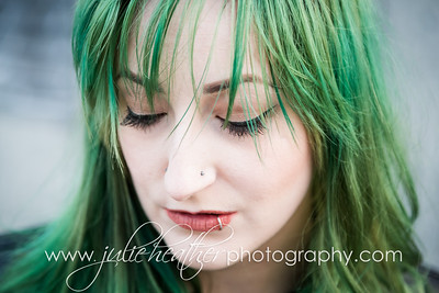 Michelle Hair Model Nov 2017