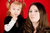 Jen & Bella <br /> Christmas 2008 Portraits