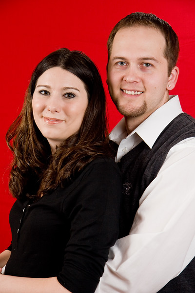Mike & Jen  <br /> Christmas 2008 Portraits