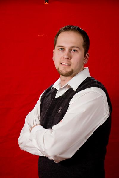 Mike <br /> Christmas 2008 Portraits