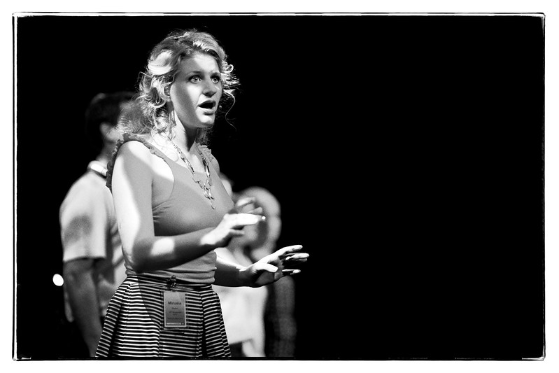 """Mirusia Louwerse ( <a href=""""http://www.mirusia.net"""">http://www.mirusia.net</a>) rehearsing at Sydney Opera House with Vocal Manoeuvres choir ( <a href=""""http://www.vm.net"""">http://www.vm.net</a>)"""
