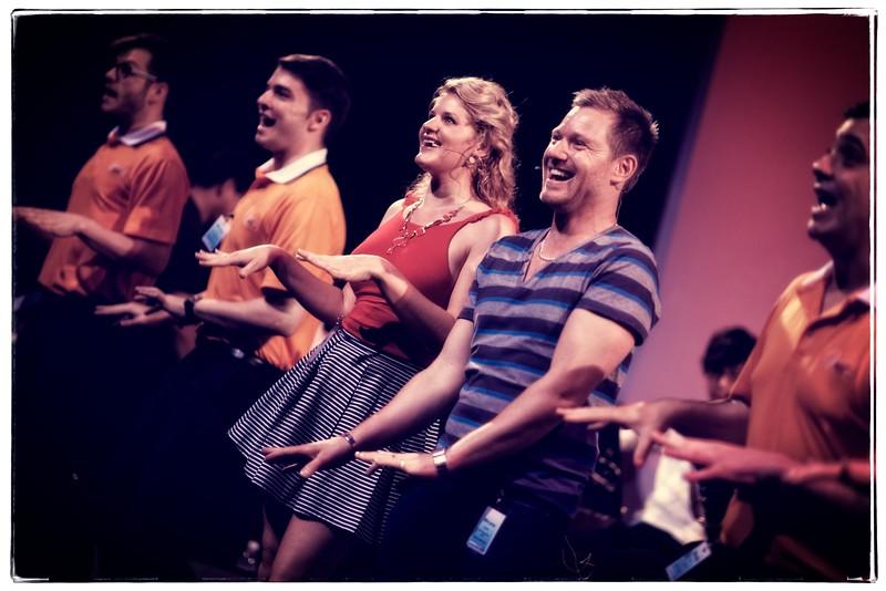 """Mirusia Louwerse ( <a href=""""http://www.mirusia.net"""">http://www.mirusia.net</a>) rehearsing at Sydney Opera House with Gregory Moore ( <a href=""""http://www.gregorymoore.com.au"""">http://www.gregorymoore.com.au</a>) and Vocal Manoeuvres choir ( <a href=""""http://www.vm.net"""">http://www.vm.net</a>)"""