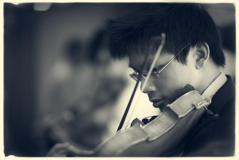 Benjamin Tjoa backstage at Sydney Opera House (Mirusia's Salon Orchestra)