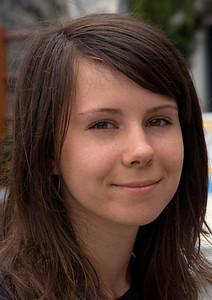 Oksana, Ukraine. Meet this sweet girl at the Postojna caves in Slovenia