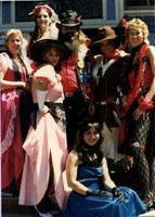 Saloon girls 1985