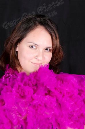 Justine pink ruffle 883