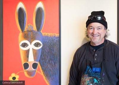 Terrell Powell PaintSculpt hat art artist 7186