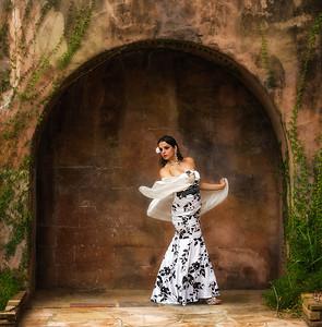 Model Alexandra Ramos Howey Mansion 2015