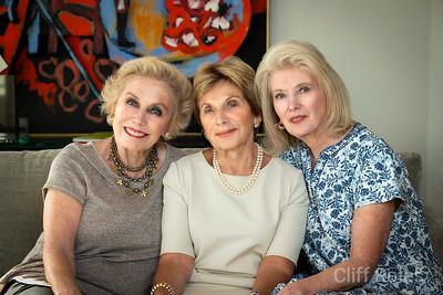 Molly Schechter, Anne Virag & Marilyn Shuman